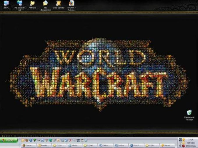 World of Warcraft Mosaic Wallpaper