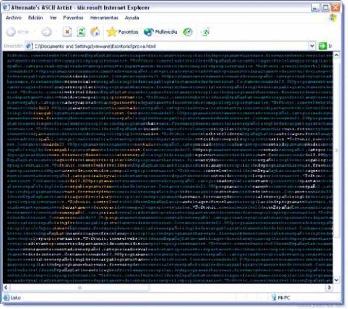 Alternate's ASCII Artist