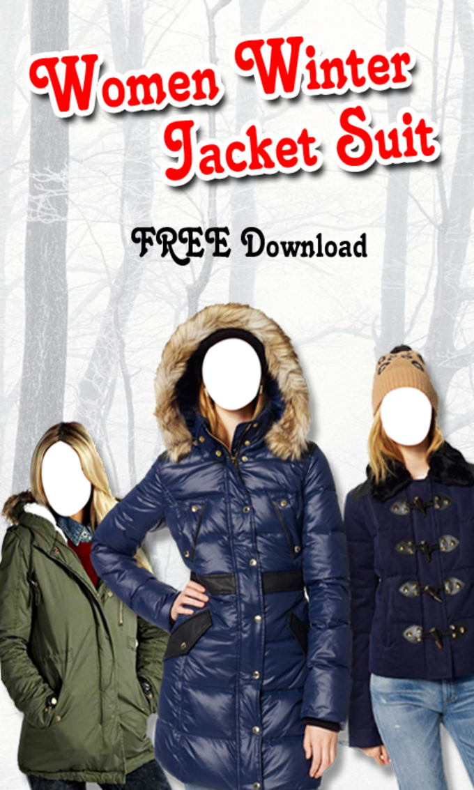 Women Winter Jacket Suit