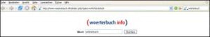 woerterbuch.info Toolbar für Mozilla Firefox