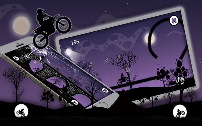 Dark Moto Race Bike Challange