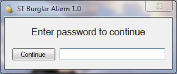 ST Burglar Alarm