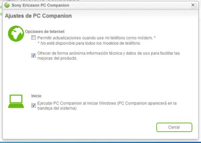 Sony Ericsson PC Companion
