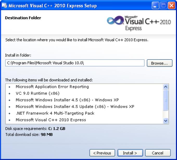 windows c++ download