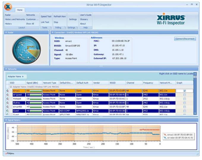 Xirrus Wi-Fi Inspector Portable