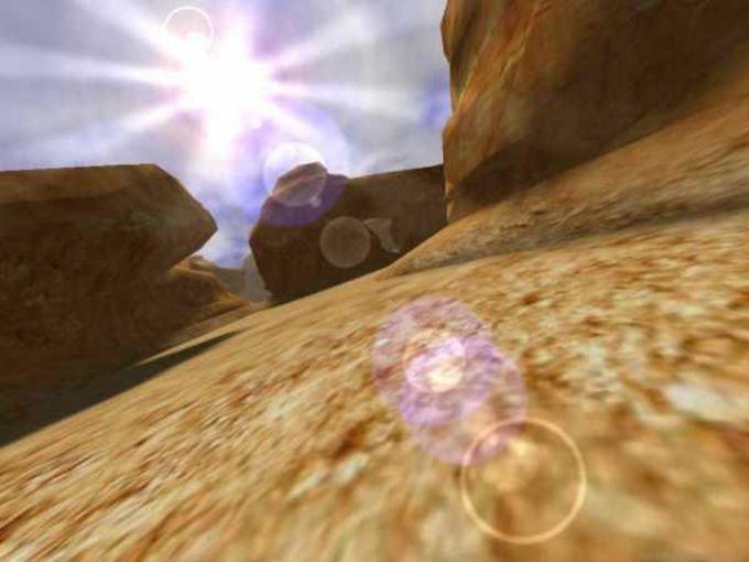 3D Canyon Flight Screensaver