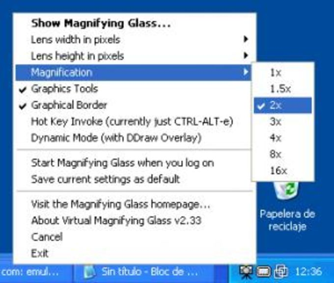Virtual Magnifying Glass