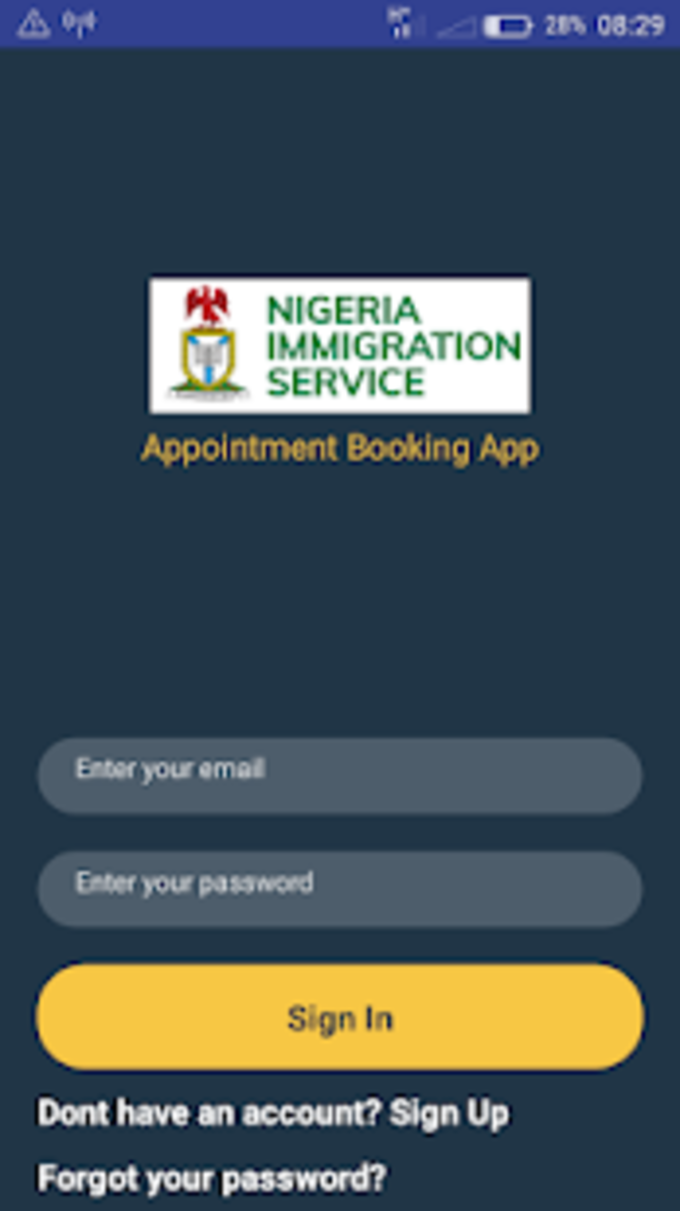 NIS Appointment Booking App for Android - Download