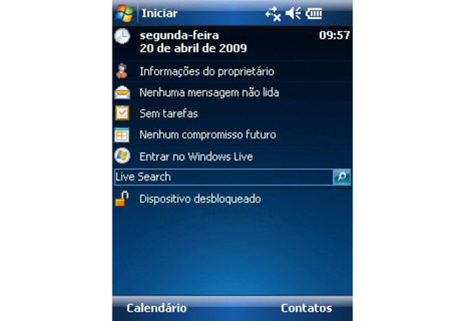 Windows Mobile 7 Theme