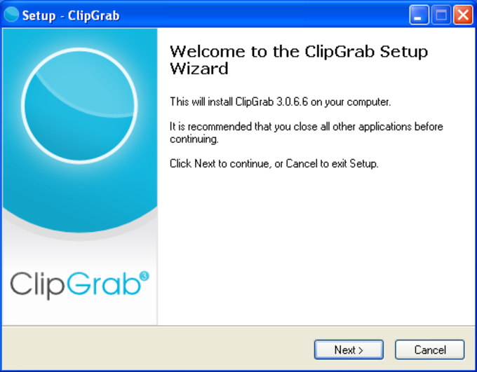 Download ClipGrab - free - latest version