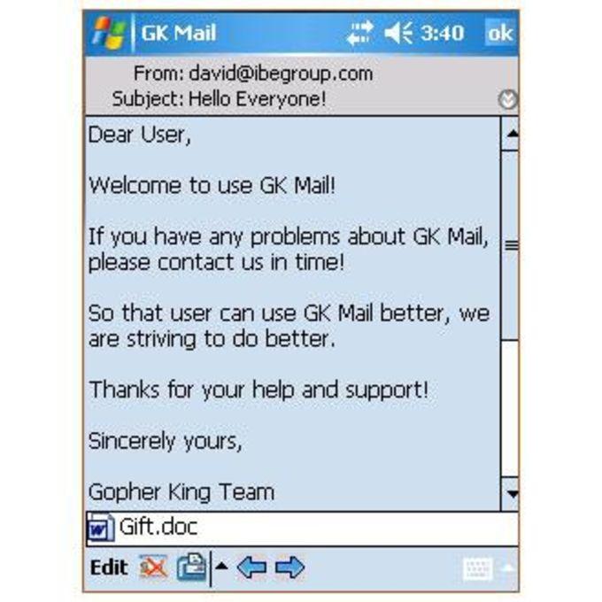 GK Mail WM 2003