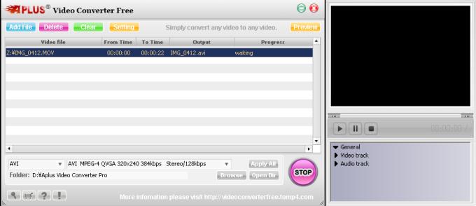 Aplus Video Converter Free