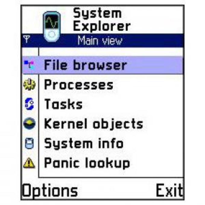 Justek System Explorer