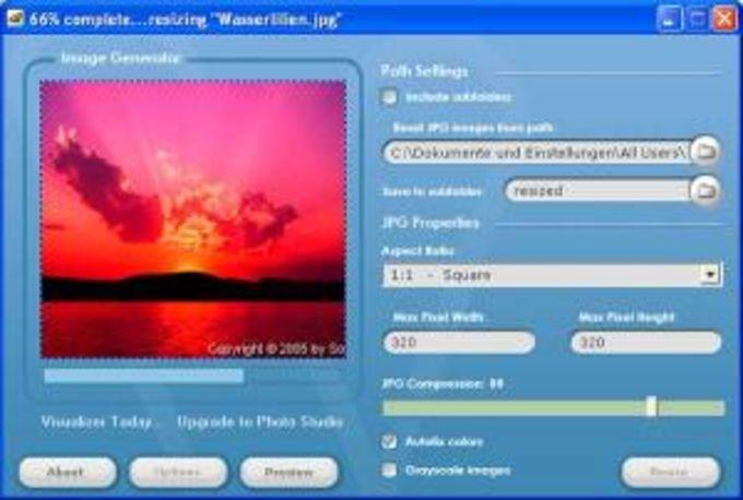Visualizer Photo Resize
