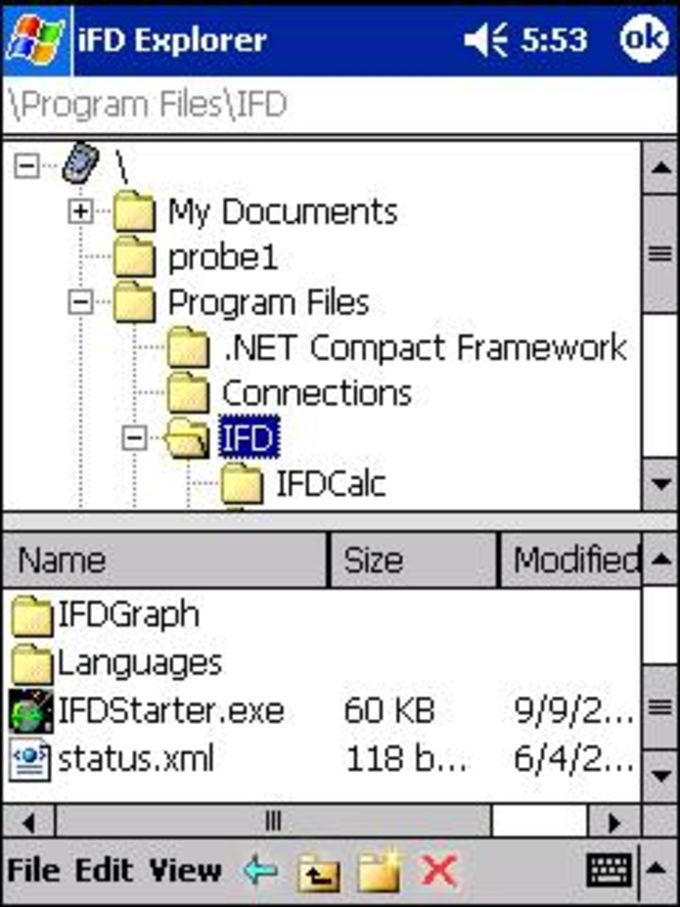 iFD Explorer