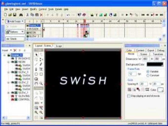 SWiSHmax2