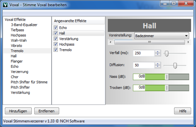 Voxal Professional Voice Change Software