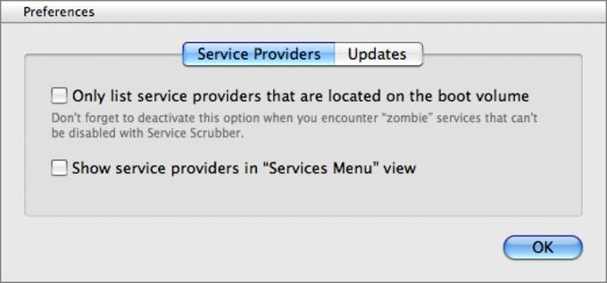 Service Scrubber