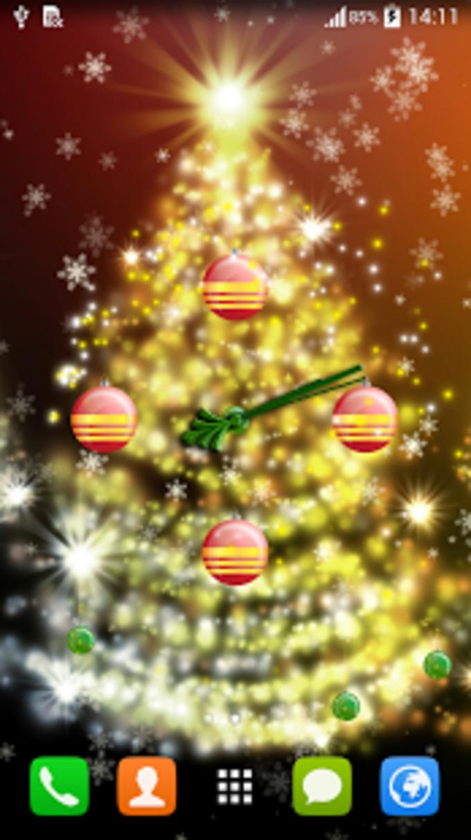 Reloj para la Navidad