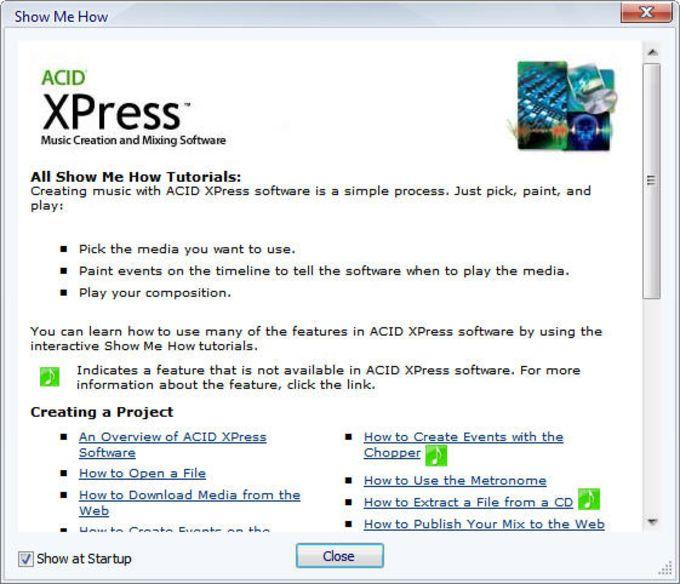 Sony ACID XPres