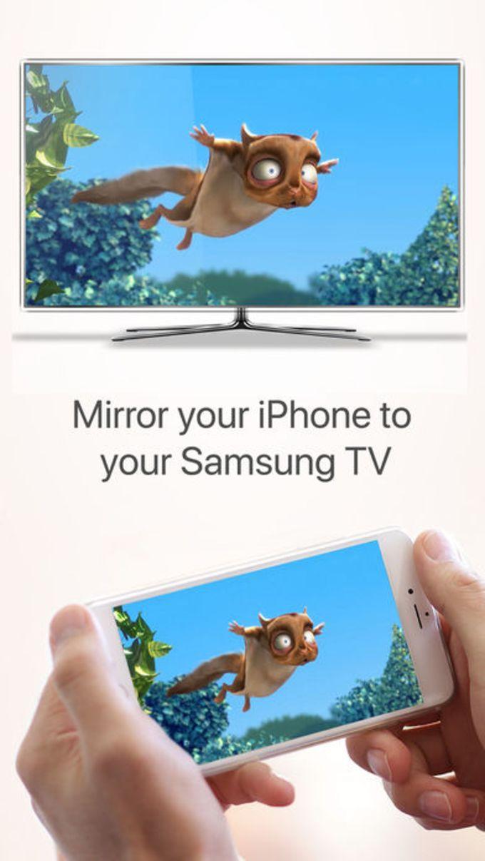 Mirror for Samsung TV