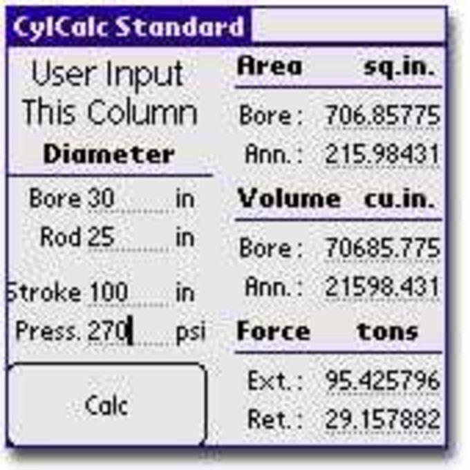 Cyl Calc