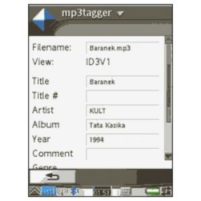 MP3tagger