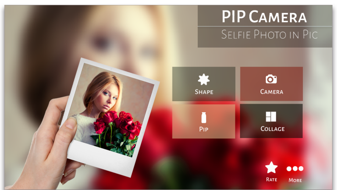 PIP Camera Selfie Photo In Pic