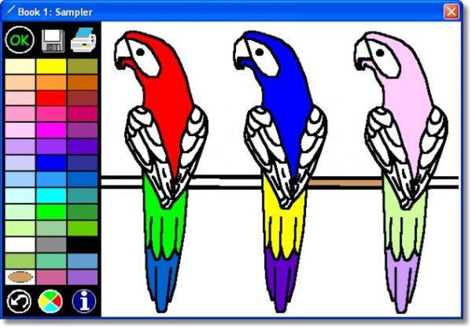 Kea Coloring Book - Download