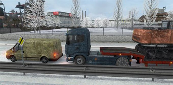 Euro Truck Simulator 2 Winter Mod