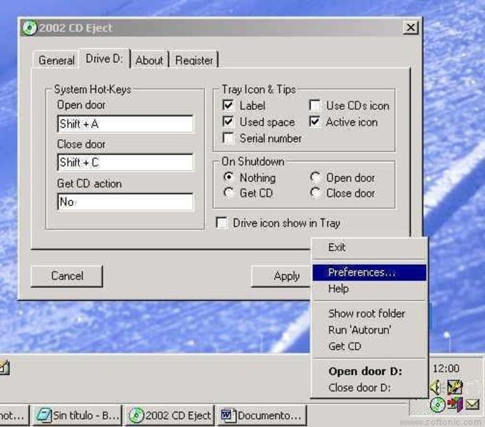 2002 CD Eject