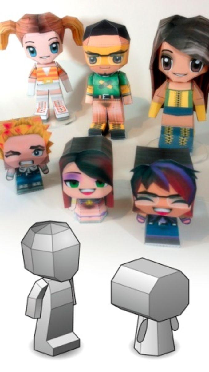 PaperChibi Lite 3D Papercraft