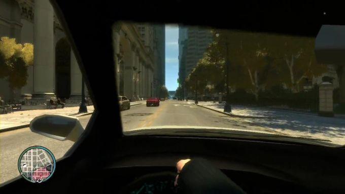 GTA IV First Person Mod
