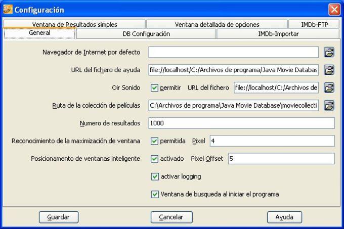Java Movie Database