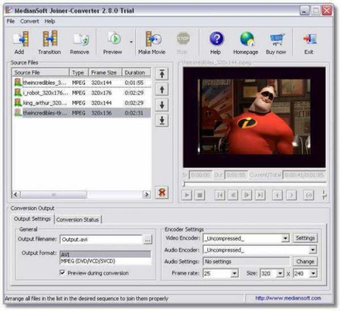 MedianSoft Joiner-Converter
