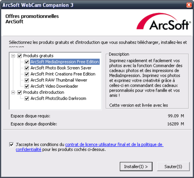 ArcSoft WebCam Companion