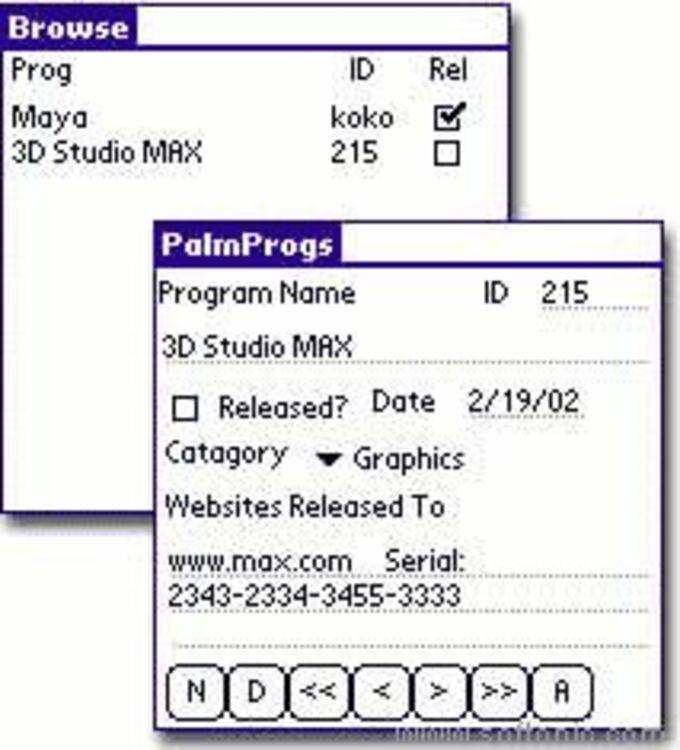 PalmProg