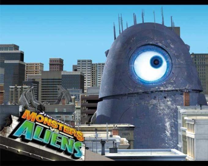 Monstros vs Alienígenas