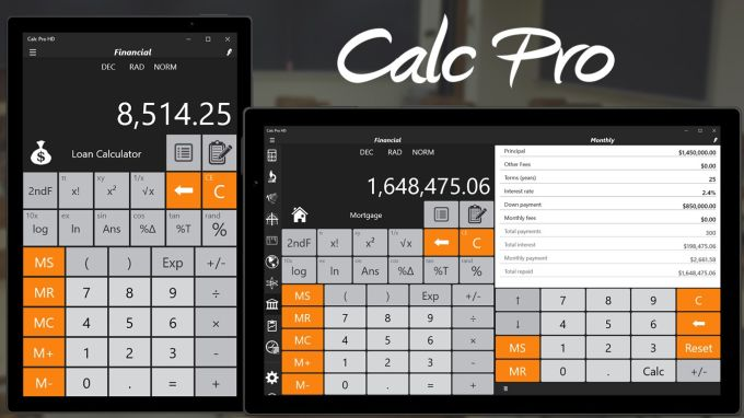 Calc Pro HD - Calculator