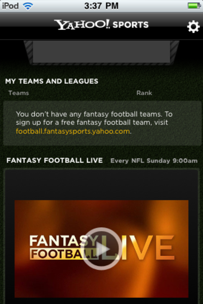 Yahoo! Fantasy Football, Basketball, Hockey, Baseball
