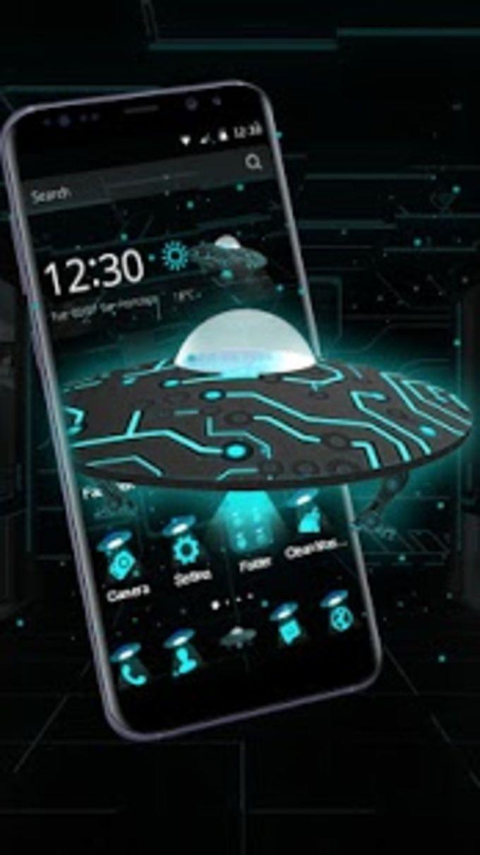 3D Future Spaceship Theme