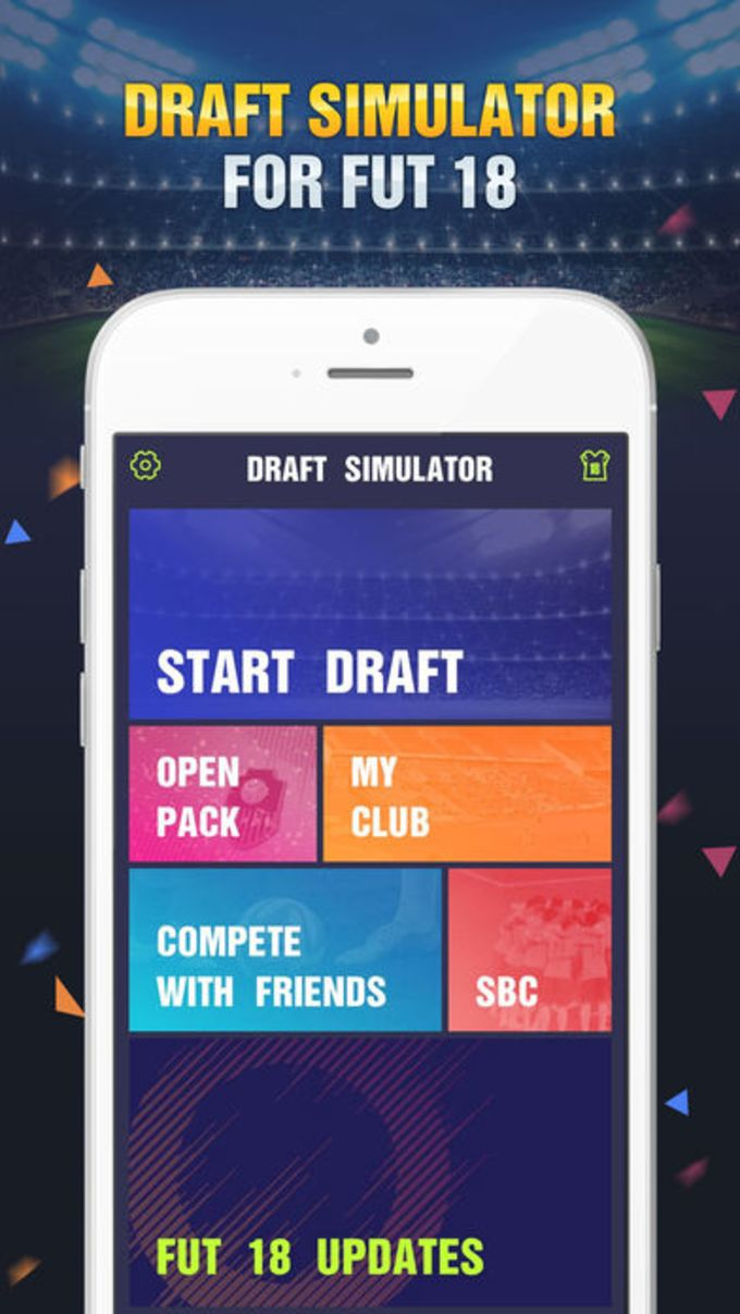 Draft Simulator for FUT 18