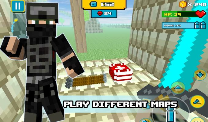 Block Wars Survival Games