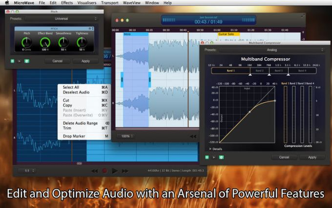 MicroWave Express - Audio Editor and Recorder
