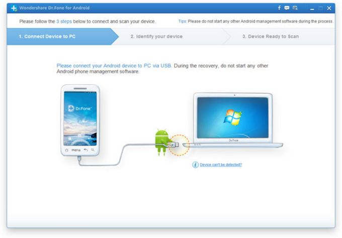 Wondershare Dr.Fone for Android