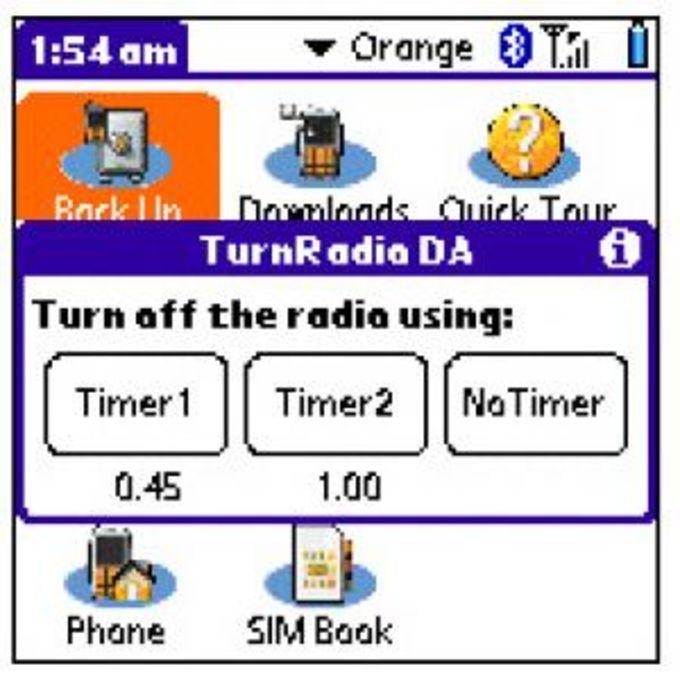 Radio Timer DA