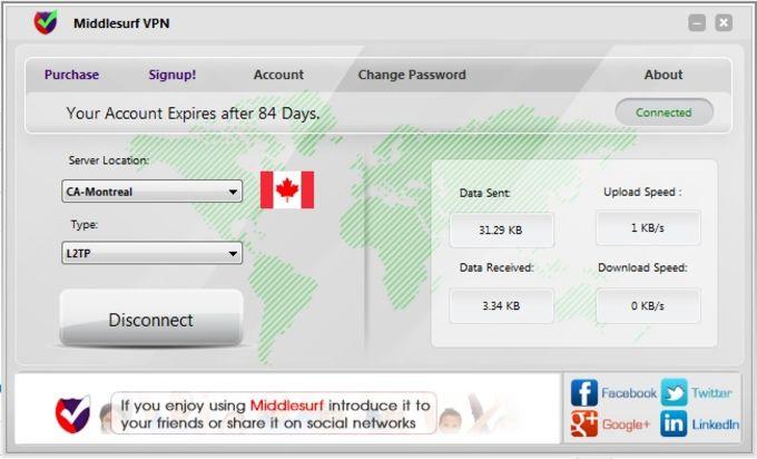 Middlesurf VPN