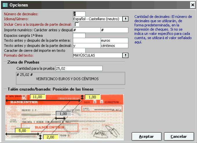 Imprimir Cheques
