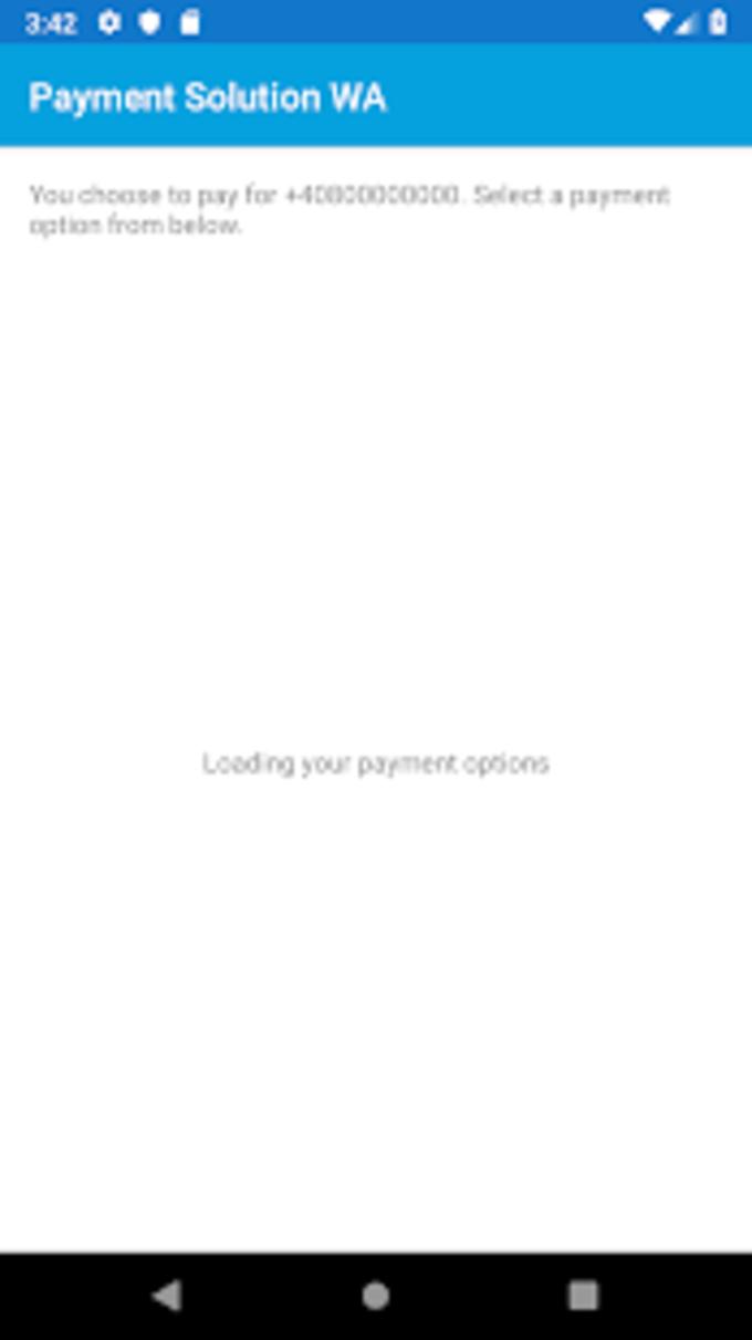 WA Payment Module