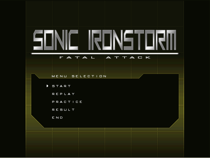 Sonic Ironstorm: Fatal Attack